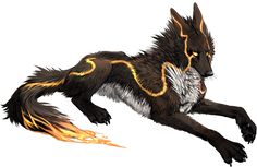 56 Ideas Drawing Wolf Fantasy Night For 2019 Anime Wolf, Magical Creatures, Fantasy Creatures, Fantasy Kunst, Fantasy Art, Fantasy Wolf, Anime Animals, Mythological Creatures, Creature Design