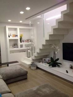 ✔Space Under The Stairs You Have To See - 47 Ideas to Make The Most of It #stairs #homedesign #savespacehome #homedecor | Glebemines.com