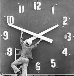 """Word of the Week: efficiency. We lost an hour for Daylight Savings. How can we work smart to """"get back"""" that hour?"""