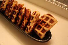 Waffle Iron Sandwiches