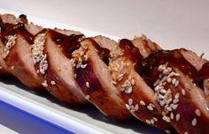 Hoisin Pork Tenderloin by noblepig #Pork_Tenderloin #Hoisin