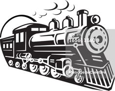 Vector Art : Train Icon