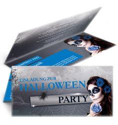 Halloween Party  Einladungskarten jetzt günstig online kaufen. #halloweenparty #einladungskarte #einladungskartenkaufen