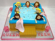 Hot Tub Birthday Cake | Flickr - Photo Sharing!