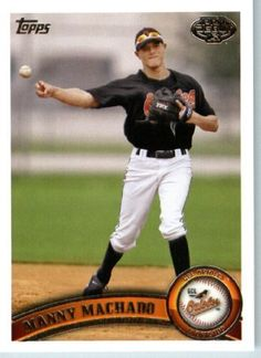 2011 Topps Pro Debut Baseball Card # 75 Manny Machado - GCL Orioles - MiLB (Prospect - Rookie Card) MLB Trading Card by Topps. $5.07. 2011 Topps Pro Debut Baseball Card # 75 Manny Machado - GCL Orioles - MiLB (Prospect - Rookie Card) MLB Trading Card