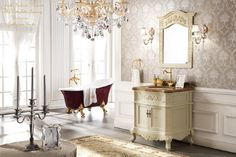 Victorian Style Bathroom Vanity | victorian bathroom designs.... CALGON TAKE ME AWAY !!! 'Cherie