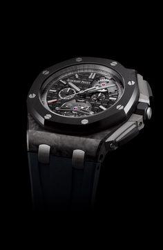 audemars piguet all black Audemars Piguet Price, Audemars Piguet Watches, Audemars Piguet Royal Oak, Amazing Watches, Beautiful Watches, Cool Watches, Men's Watches, Armani Watches For Men, Stylish Watches