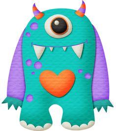 "Photo from album ""монстры"" on Yandex. Monster Co, Doodle Monster, Monster Crafts, Sock Monster, Monster Party, Monster Mash, Cute Monsters, Little Monsters, Monster Clipart"