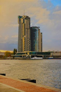 sea towers in Gdynia by Alicja Wisniewska, via Gdansk Poland, Historical Monuments, Central Europe, Baltic Sea, Heritage Site, Willis Tower, Towers, Postcards, Travel Destinations