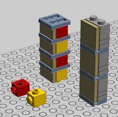 [Problem] Tiles n' snot om vartannat? Lego Videos, Lego Wall, Micro Lego, Lego Pictures, Lego Mechs, Lego Modular, Lego Castle, Lego Building, Building Ideas