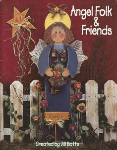 Angel Folk and Friends Decorative Tole Painting Craft Book