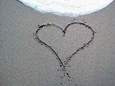 Love is written in the sand! Destination Wedding, Romantic, Writing, Weddings, Tattoos, Tatuajes, Mariage, Tattoo, Wedding