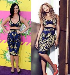 Who wore it better?I think Beyoncé did. Just sayin!