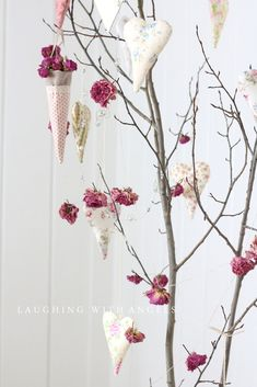 laughing with angels: A little Valentine tree----and, I won Jane's giveaway!
