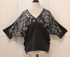 Anthropologie Floral Blouse By Testament Size S Boho Batwings Comfortable Casual #Anthropologie #Blouse #Casual
