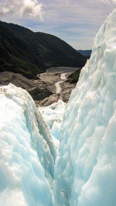 A glacier hike in Fr