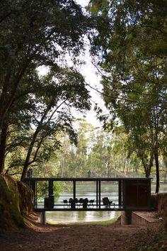 A Bridge-Like Pavilion In The Woods By Alarcia Ferrer Arquitectos | iGNANT.de