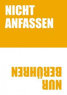 Nicht anfassen | 180° | Echte Postkarten online versenden | MyPostcard.com