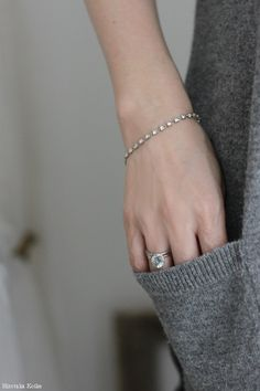 Jewelry Necklaces, Jewellery, Bracelets, Black Rolex, My Wardrobe, Pearl Necklace, Silver Rings, Pearls, Denim