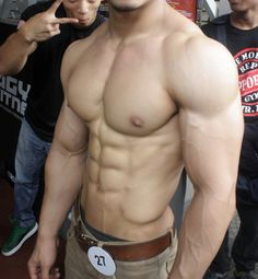 great pecs and physique