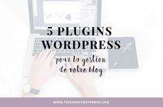 5 plugins WordPress pour la gestion de votre blog