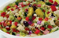 CHOPPED ANTIPASTI SALAD Maggiano's Little Italy Recipe 2 1/2 tablespoons red wine vinegar 2 tablespoons red onions,diced 2 teaspoo...