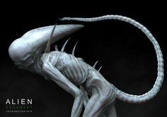 COLIN SHULVER Concept Artist - Character Designer ALIEN COVENANT