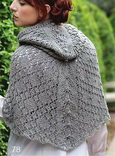 Ravelry: Northanger Abbey Hood pattern by Catherine Salter Bayar