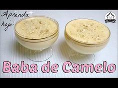 Receita de Baba de Camelo - Mousse de leite condensado cozido
