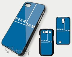 Pearl jam logo blue case iphone 4 iphone 4s iphone 5 by Skateshop, $14.50