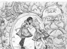 Coloring Books, Coloring Pages, Alice Liddell, Alice Madness Returns, 8bit Art, Psychological Horror, Body Art Tattoos, Fairy Tales, Art Drawings