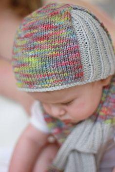 Ravelry: Otago hat and Keyhole scarf knitting pattern by Justine Turner