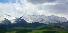Irkeshtam Pass on Kyrgyzstan-China border.