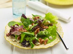 Green Salad with Brown Butter Walnut Vinaigrette Recipe : Amy Thielen : Food Network - FoodNetwork.com