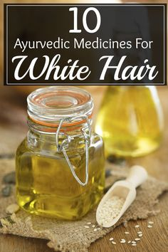 Noticing white hair on your scalp can be the biggest agony when it is not the age of hair to turn grey. Try out these ayurvedic medicines for white hair that re listed here