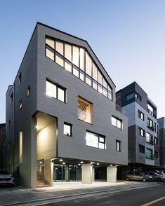 설계 _ RiCHUE 시공 _ 本[bon].집 copyright ⓒ 'Kim Yong Soon' all rights reserved School Architecture, Architecture Design, Home Deco, Home And Living, Home Art, Interior And Exterior, Bali, Multi Story Building, Mansions