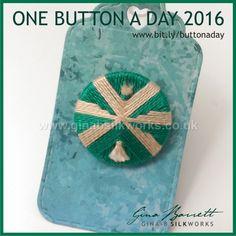 Day 170: Mask #onebuttonaday by Gina Barrett