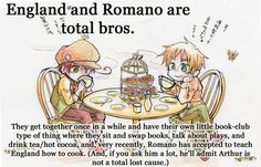 England & Romano <-- I love this so much I can't even put it into words!!