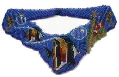 Ocean Weave Necklace Beading Pattern and Kit. (Click on picture to take you to this item on our website). $18.95