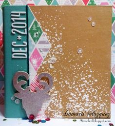 December Daily 2014. December Daily. December Daily Cover. Project Life.