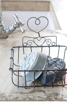 """A French Cottage"" Savon Soap, Shabby Chic, Boho Chic, Bohemian, Vibeke Design, Diy Upcycling, Country Blue, French Country, Country Charm"