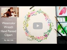 [LVL4] How to Paint Flowers with Watercolor | Step by Step Tutorial - YouTube