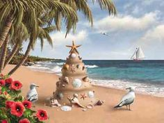 Holiday In Paradise Mural - Alan Giana| Murals Your Way