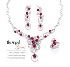 #The King of Gems #representation of the sun #beauty of soul #romance of love #Eastern Jewelry Ltd #HKJE Issue 66 #BrandLeader