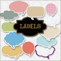 #papercraft #downloads #printables Labels - free downloads