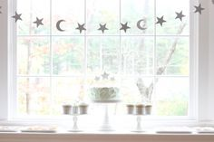 Party Feature : Moon and Stars Birthday - Bloom Designs