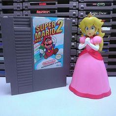Super Mario Bros 2 Nes _______________________ #SuperMario #Luigi #Mario #Peach #VideoJuegos #Games #Gamer #VideoGames #GameDay #Gaming #PS4 #XBox #PS3 #XbosOne #Xbox360 #Nintendo #SNES #NES #N64 #WiiU #Retro #RetroGaming #Game #Geek #GameDev #Nerd #8Bit #SEGA #EstadoPlay #GamePlay