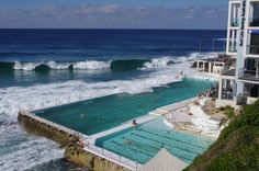 Look at that seawater pool! -- Bondi Icebergs Club Pool, Australia