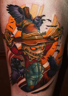 Scarecrow #tattoo