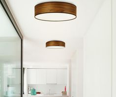 Лампа за таван Suri Natural Brown M - Vivre